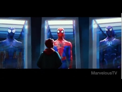 NEW!!!!  SPIDER-MAN:  Into The Spider Verse