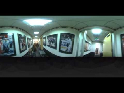 360 view at Ducks locker room game 7 post game FabTV