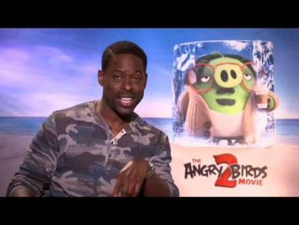 """Angry Birds 2""  with  'Sterling K.Brown'"