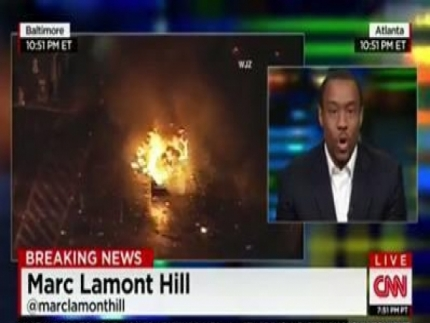 Marc Lamont Hill on fire about Baltimore 'riot'. What do you think?