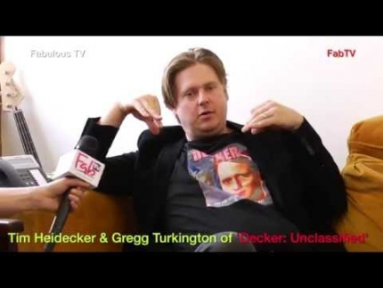 Tim Heidecker & Gregg Turkington of 'Decker: Unclassified' on Fabulous TV