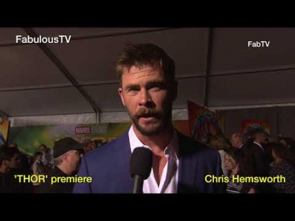 'THOR' premiere with Chris Hemsworth