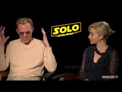 'Solo' Paul Bettany & Emelia Clarke