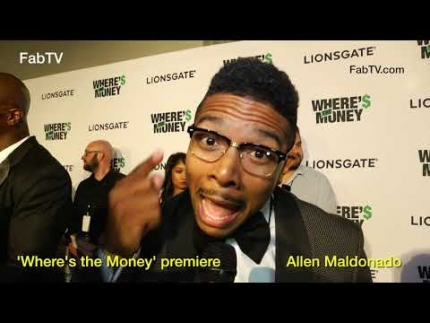 Allen Maldonado at the 'Where's the Money' premiere  on FabulousTV
