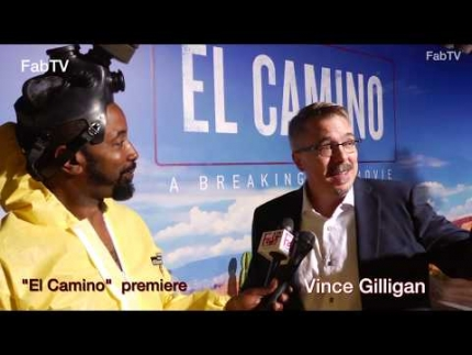 "Vince Gilligan at the ""El Camino""  premiere & red carpet"