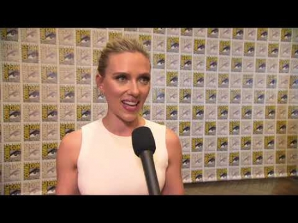 SCARLETT JOHANSSON  arrives at  COMIC CON 2019