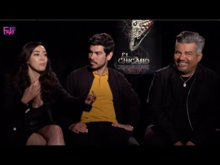 """George Lopez - Raul Castillo - Aimee Garcia  """"El Chicano"""""""