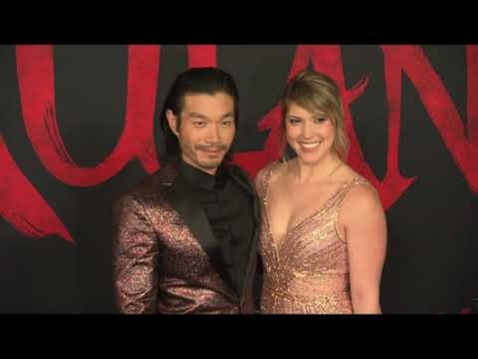 """MULAN"" WORLD  PREMIERE arrivals & fashion camera"