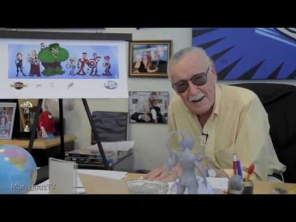 "New Found footage of ""Stan Lee"" talking about ""Bad..."