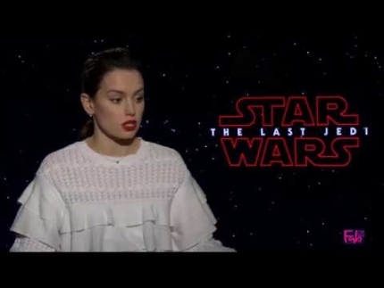 Daisy Ridley talks about latest Star Wars: The Last Jedi