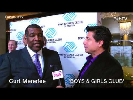 Curt Menefee at the 'BOYS & GIRLS CLUB of AMERICA'