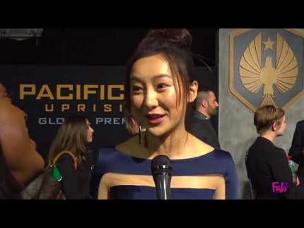 Lily Ji at the 'Pacific Rim' UPRISING Global Premiere Hollywood
