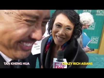 "Tan Kheng Hua ""Crazy Rich Asians""   premiere"