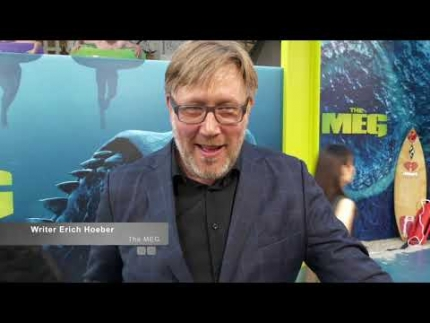 Writer Erich Hoeber 'The Meg'
