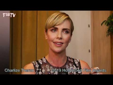 "Charlize Theron at the ""23rd Annual Hollywood Film Awards"""