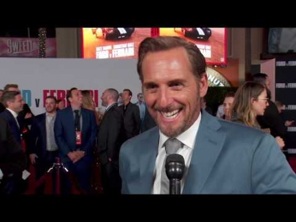 """""""Ford v Ferrari""""  red carpet with 'Josh Lucas'"""