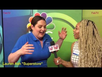 """Superstore"" star Lauren Ash talks about her show on NBC"