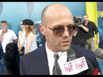 Jason Statham at 'THE MEG' premiere