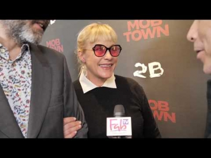 "Patricia Arquette at ""Mob Town"" red carpet"