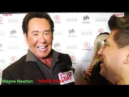 "Wayne Newton ""MINDFREAK""  Grand Opening at Planet Hollywood!"