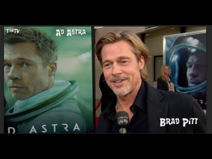 """Ad Astra""  Brad Pitt           What Ad Astra means?"