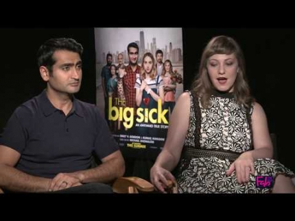 'The Big Sick' Kumail Nanjiani & Emily Gordon