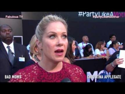 Christina Applegate talks motherhood at the BAD MOMS  premiere on Fabulous TV