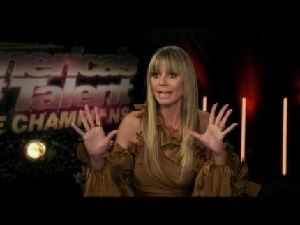 Heidi Klum  America's Got Talent: The Champions - Season 2 Premiere