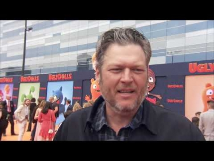 Blake Shelton at the 'UglyDolls' premiere