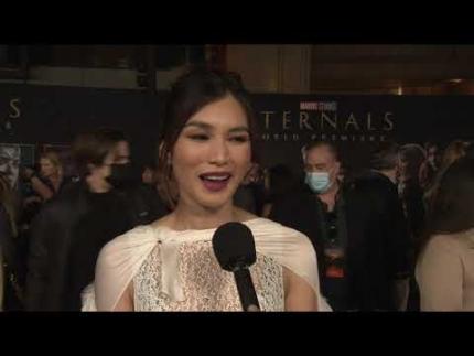 """Gemma Chan - Marvel Studios' """"Eternals"""" World Premiere"""