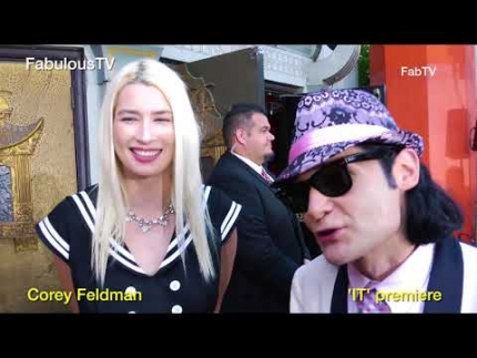 Corey Feldman at Stephen King's 'IT' premiere FabulousTV