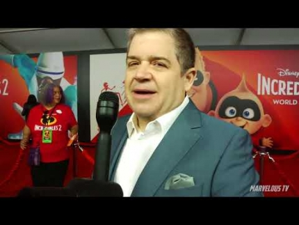 """""""Incredibles 2""""  premiere & red carpet with Patton Oswald"""