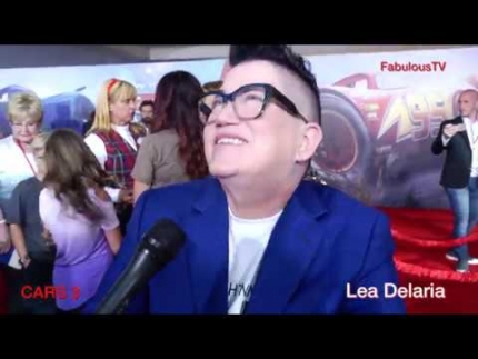 Lea Delaria laughs it up at 'CARS 3' premiere on FabulousTV