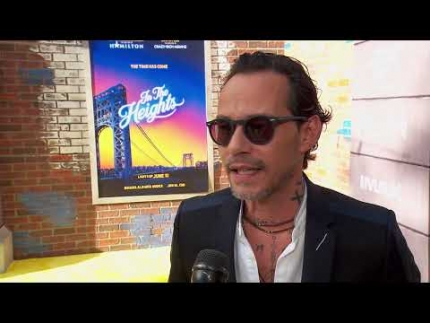 """Marc Anthony  - """"In The Heights"""" -  World Premiere"""