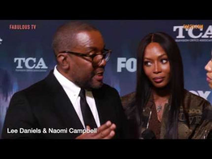 "Lee Daniels & Naomi Campbell at FOX TCA tour talk about ""STAR"""