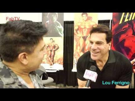 """Lou Ferrigno """"The Hulk""""  at 2019 L. A. Comic Con"""