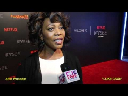 Alfre Woodard at NETFLIX's FYSEE  'LUKE CAGE'...