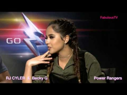 Becky G & RJ Cyler from 'POWER RANGERS' on FabulousTV