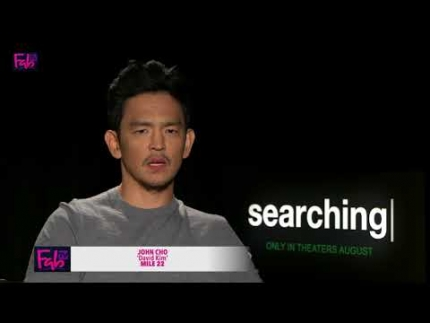 "John Cho stars in ""Searching"""
