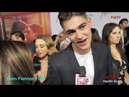 """Hero Fiennes Tiffin at the """"AFTER""""   premiere"""