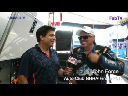 John Force at the 'Auto Club NHRA Finals 2017' on FabTV