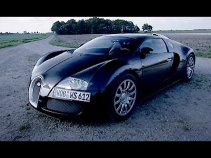Bugatti Veyron at Top Speed (HQ) - Top Gear - Series 9 - BBC
