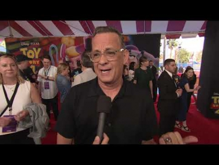 "TOM HANKS at the ""TOY STORY 4"" World Premiere"