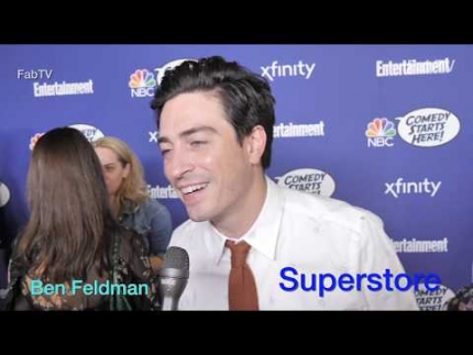 "Ben Feldman from  ""SUPERSTORE"" on NBC"