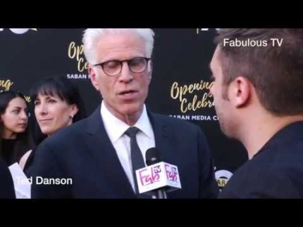 Ted Danson at the 70th Anniversary at TV Academy red carpet on Fabulous TV