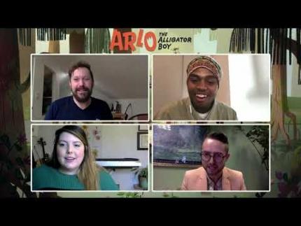 ARLO THE ALLIGATOR BOY - interview
