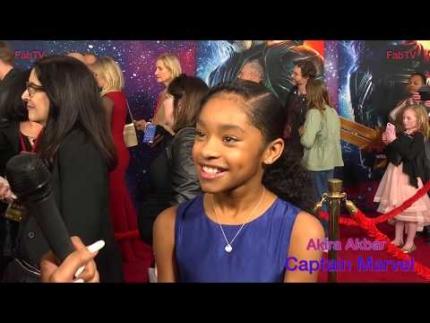 """Akira Akbar """"Captain Marvel""""  premiere on FabTV"""