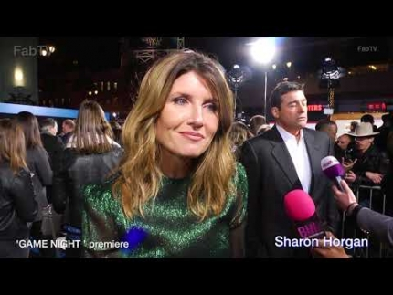 Sharon Horgan at the 'GAME NIGHT'  premiere in Hollywood tonight!