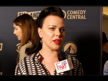 "Debi Mazar Interview ""Younger""  Red Carpet Los Angeles"