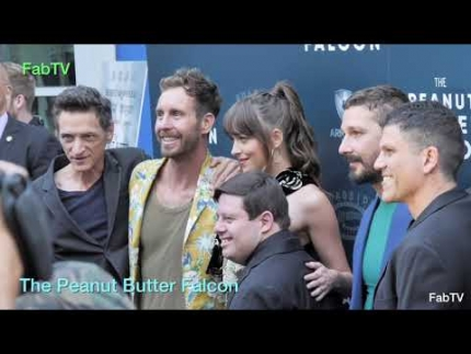 """The Peanut Butter Falcon""  red carpet arrivals  EXCLUSIVE!..."